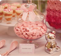 Pink, White and All Things Nice Baby Shower